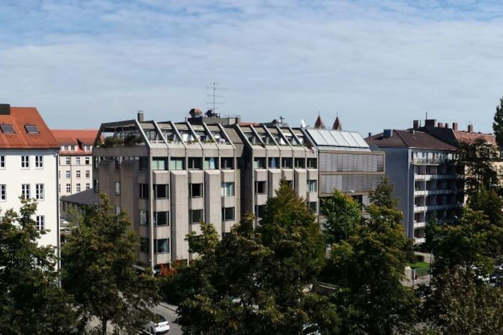 Über den Dächern der Stadt :-)