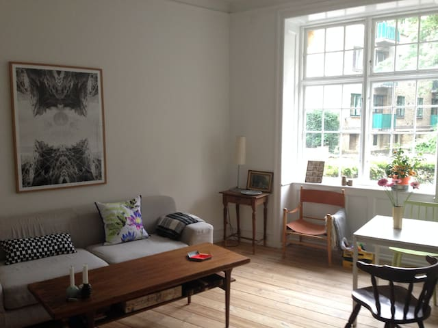 Great location with lots of charm - Frederiksberg - Apartamento
