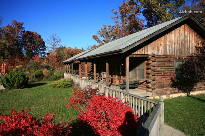 So very  comfortable, our 3 bedroom Log Cabins are the perfect home away from home