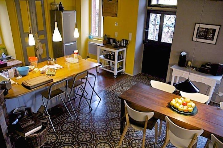 Maison de charme et chaleureuse avec jardin - Pouques-Lormes - Huis