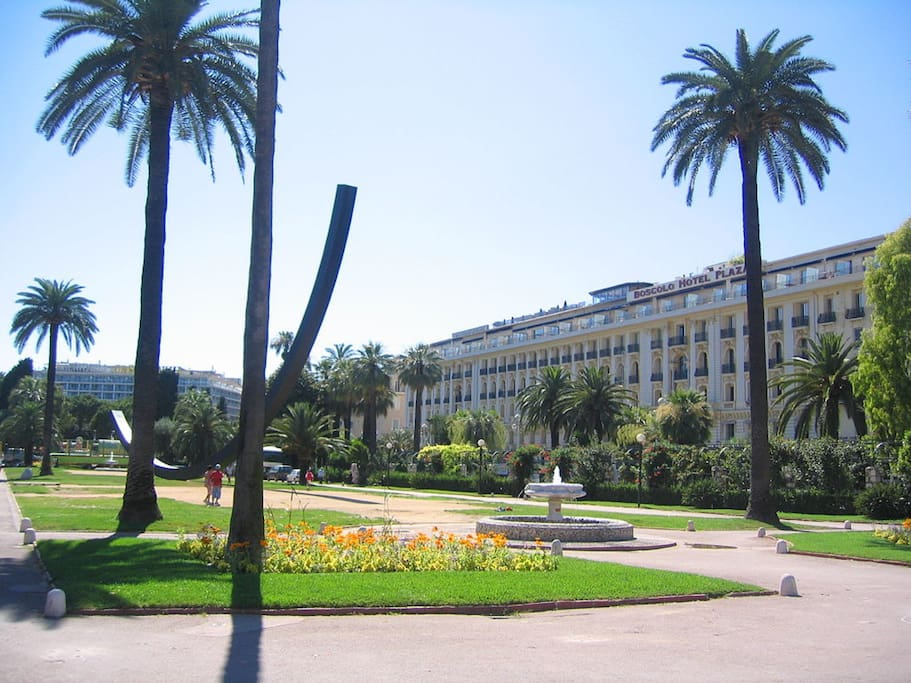 Jardin Albert 1 er