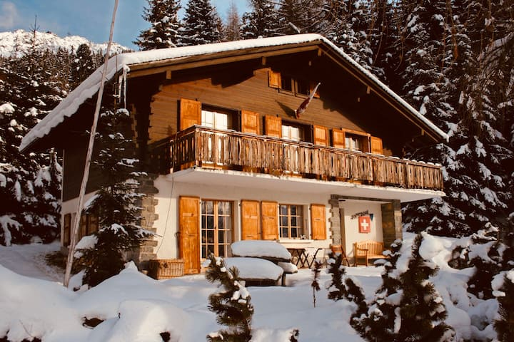 Cosy chalet with a fabulous view