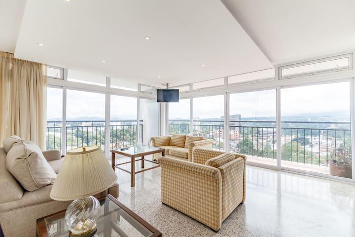 Apartamento vista 360 zona 10