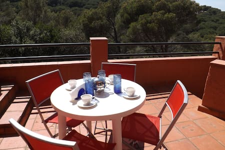 Small terraced house with garden and swimming pool - 貝格(Begur)