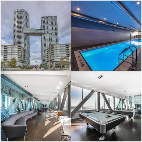 Fully furnished condo in an iconic building