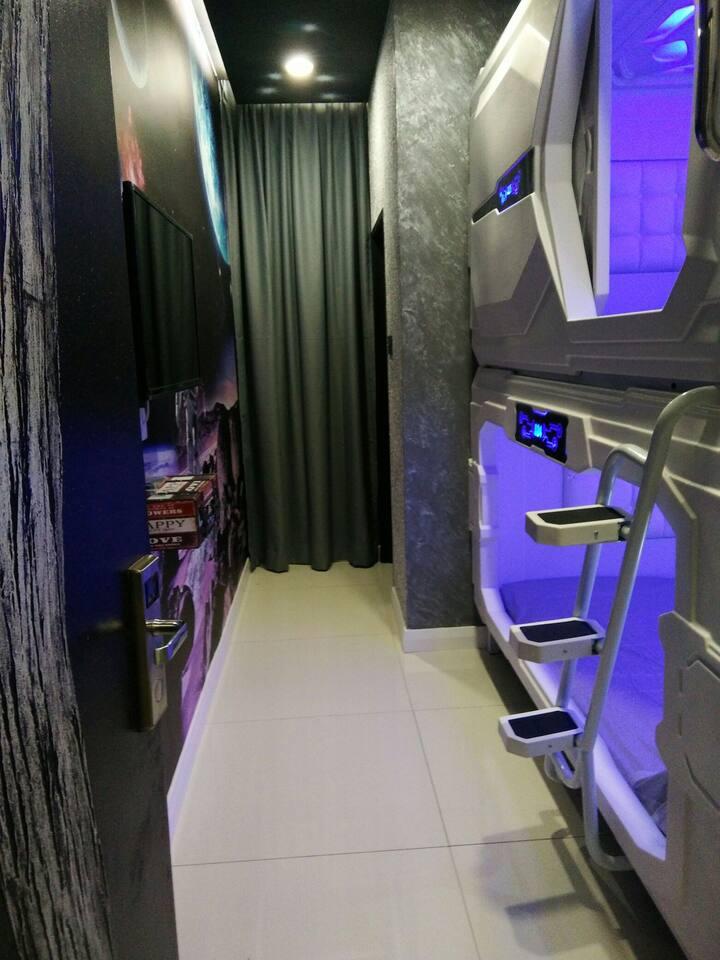IX Homestay - Kg.Tawas Room 102(4 Pax)