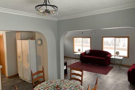 Northern MN Home on LAKE and next to Ski Resort