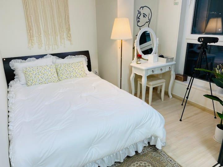 🏰파리 하우스#1 /빔프로젝트,넷플릭스/속초 해수욕장/더마크 레지던스 호텔