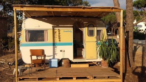 Caravana vintage emporda