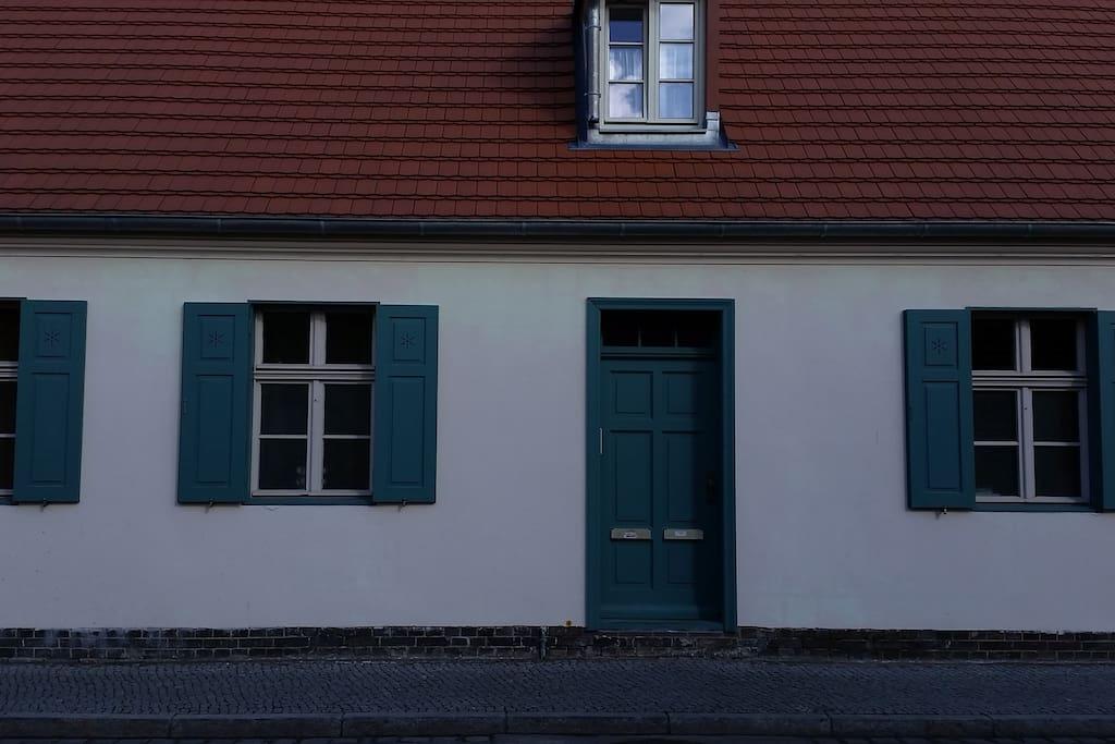 Eingangsbereich zum Flur/Wohnung