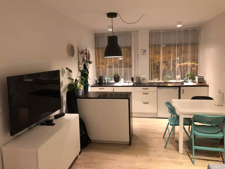 Bright and modern apartment-close to swimming pool