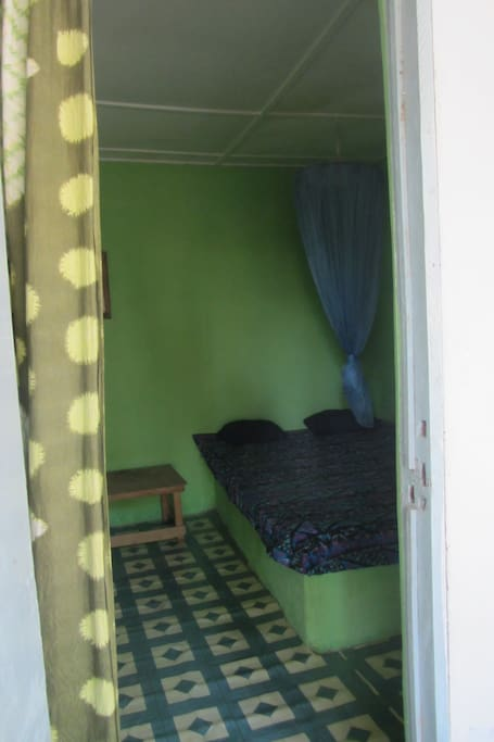One of the rooms/lodges