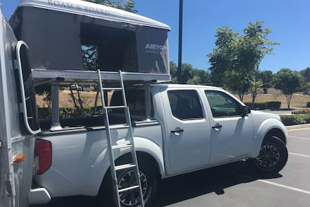 16 Foot Airstream & Nissan Frontier Plus Rooftent - Grand Canyon Village