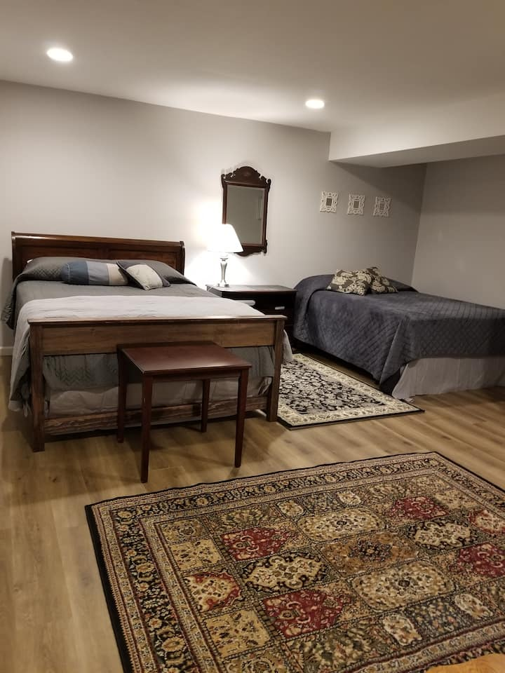 New Light suite, comfortable living