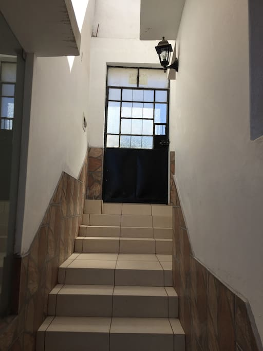 Ingreso a la casa
