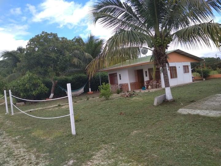 Casa de campo, mar y playa