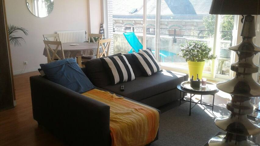 Chambre privée dans appartement T2
