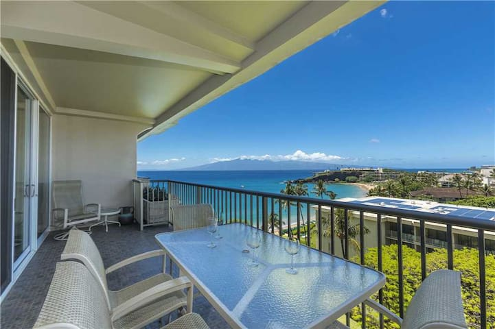 Whaler at Kaanapali Beach #912: Perfectly remodeled and well appointed 1 br Ocean View Suite located on the 9th floor of Tower I, sleeps 4