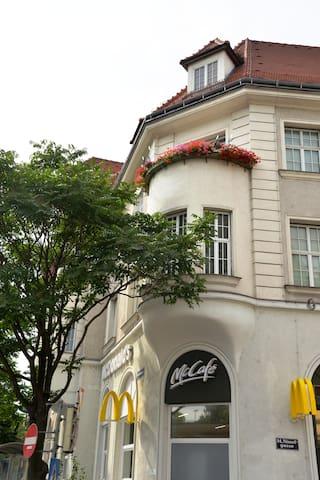 Balkon aussen