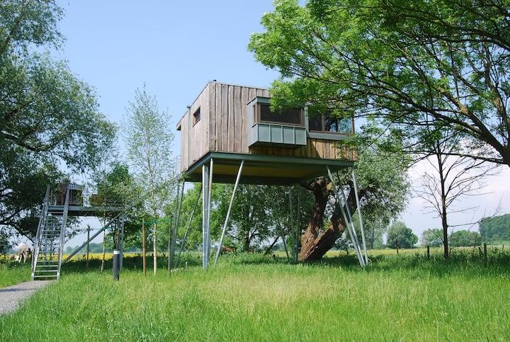 Baumhaushotel Krautsand Haus LOTTI