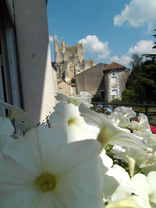 Vue sur le vieux château