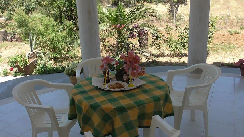 Casa Marisa - villa in campagna con giardino - Matino - Villa
