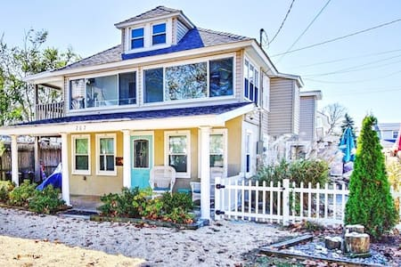 Belmar - Relax in a House 1 Block off the Beach!!