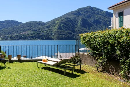 Epic view, large sunny garden, direct on the lake! - Tremezzo - Apartmen