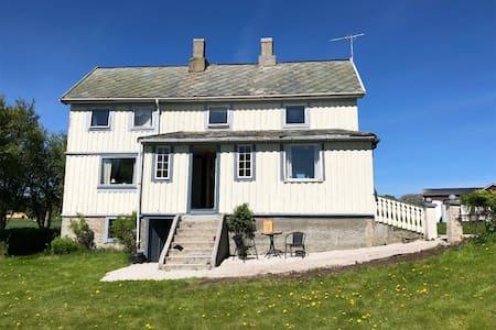 Landlig perle på Fjellværøya