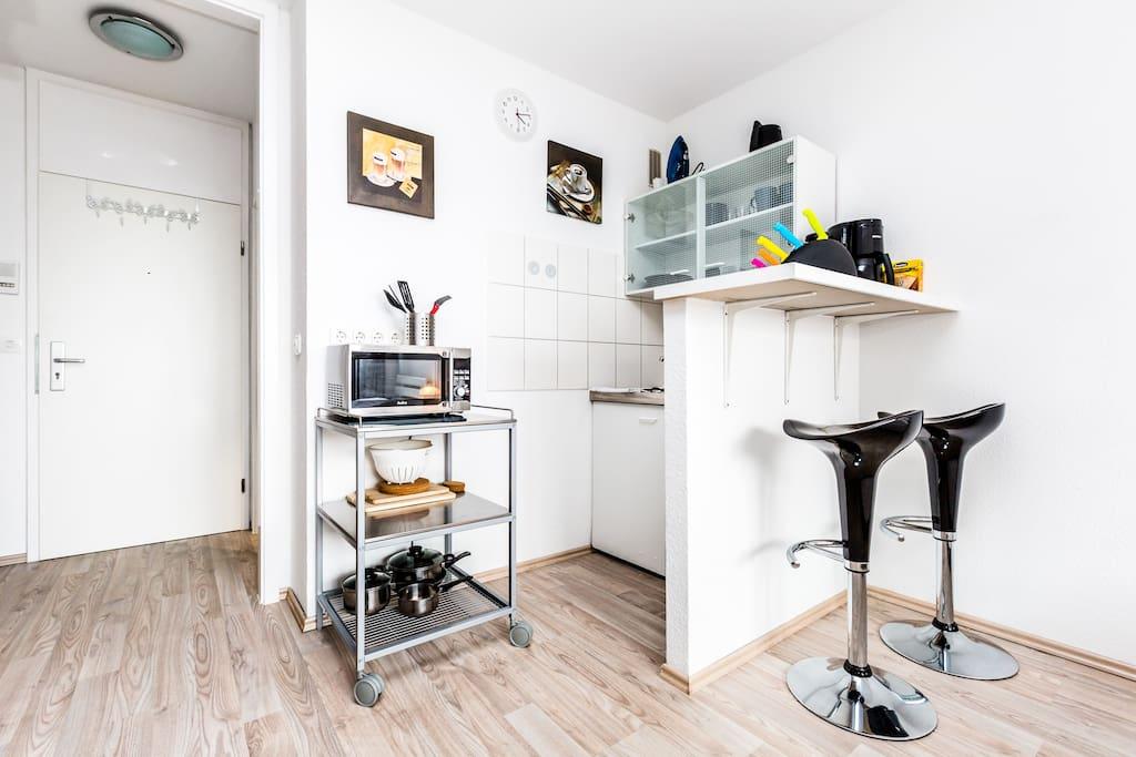 offene Küche/ open kitchen