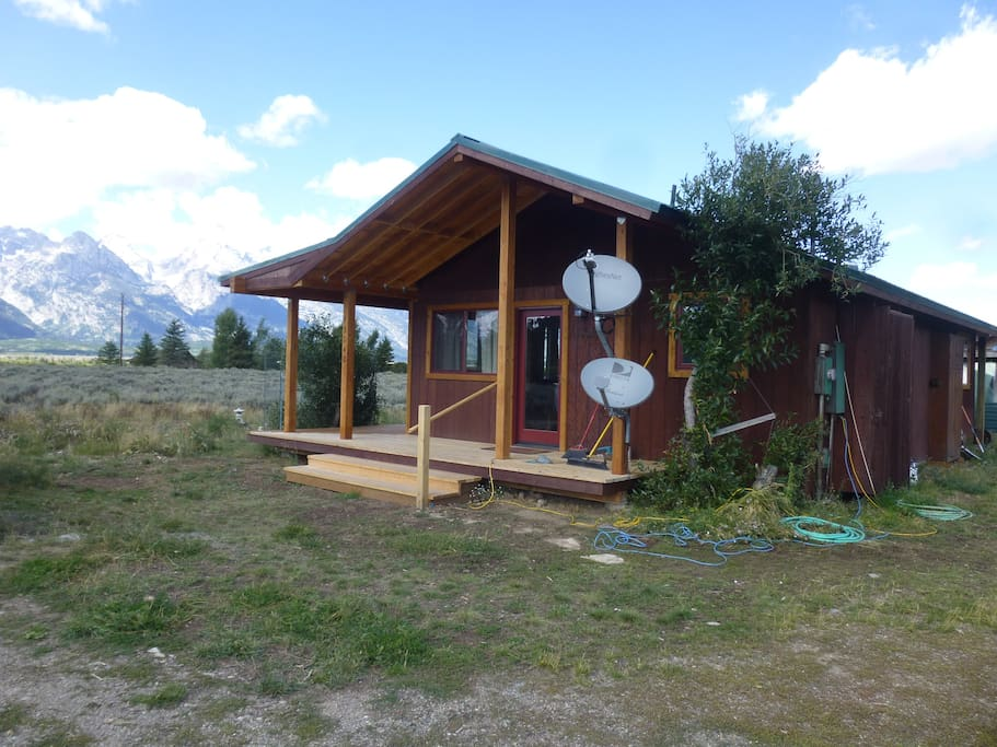 Craighead cabin at moose wyoming cabins for rent in for Teton cabin rentals
