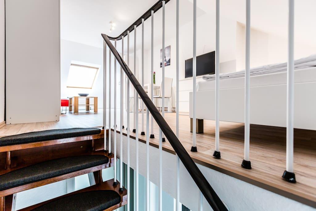 Treppenaufgang/ stairwell