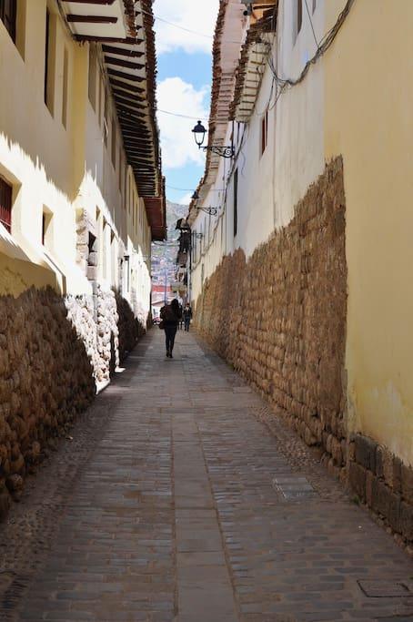 Cabracancha Street - Calle Cabracancha