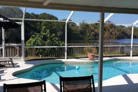 Pool home with a view - Riverview - Hus