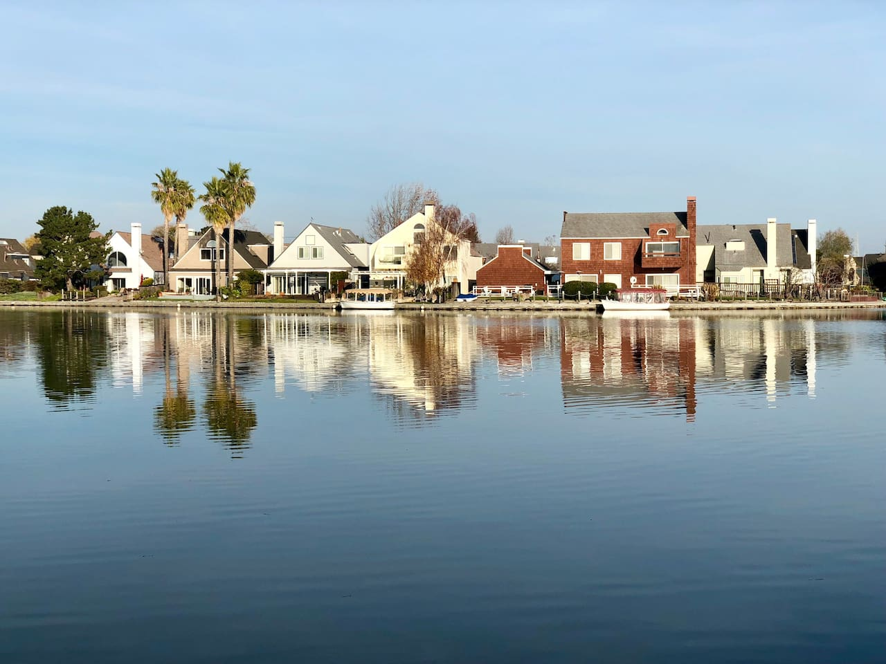 Foster City is where Silicon Valley has the highest quality of life. Our house is one parallel road to the lagoon.