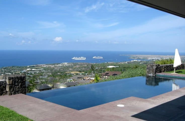 Aeolani  -  Panoramic Views / Pool - Kailua-Kona - Hus