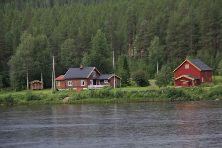 Cottage at the end of Rondane