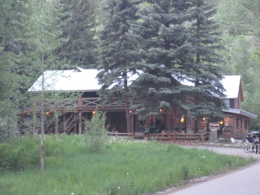 The Lodge in Summer