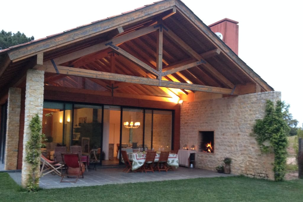 Stunning countryside chalet chalets for rent in azeit o - Casas madera portugal ...