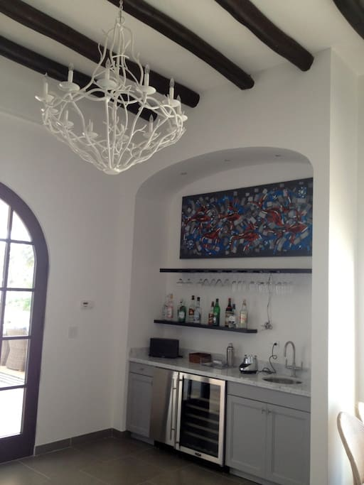 All the details of the home, tastefully decorated