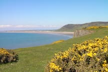 Visit unspoiled Gower beaches.