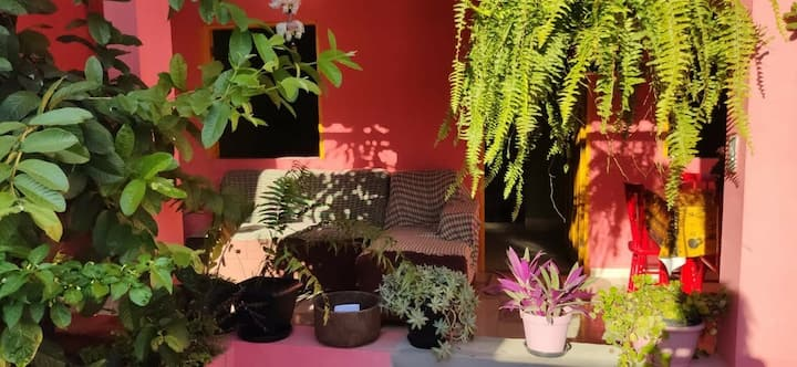 Casa Verde Rosa
