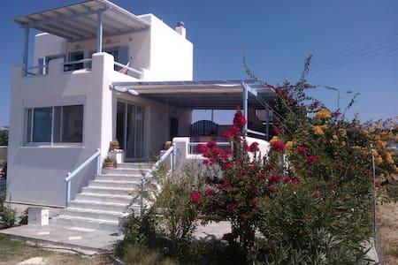 Cycladic style villa Pyrgaki 1 - Naxos