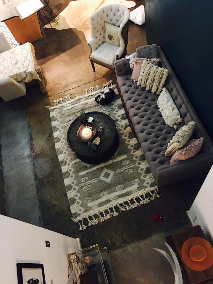 Fabulous loft near everything Atlanta has to offer
