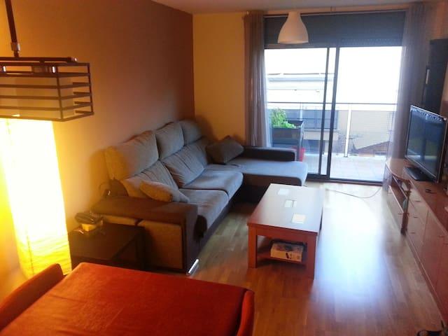 Habitación cama doble +baño privado - Sardañola del Vallés - Flat
