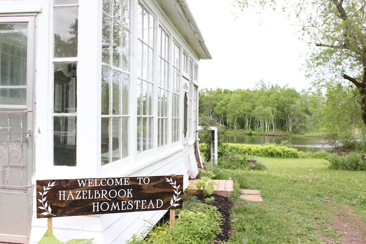 Hazelbrook Homestead, Your Countryside PEI Getaway