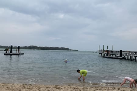 Relaxed Urunga stay midway between major cities.