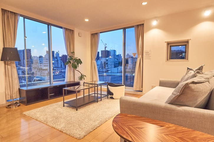 Wonderfully Located 80sqm Flat in Harajuku