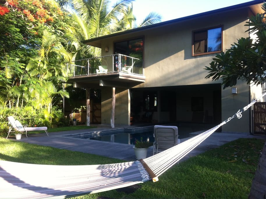 Nap on the hammock, take a dip in the pool or just enjoy the peace & quiet