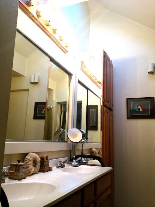 Double sinks & skylights